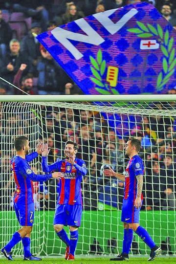 Barcelona golea 4-0 a Borussia