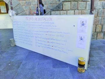 Los estudiantes de la UATF eligen a sus delegados al congreso nacional