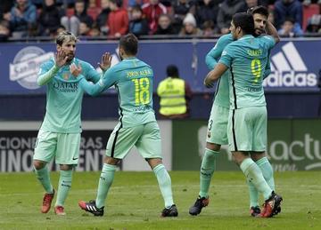Barcelona vence a Osasuna