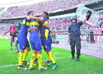Boca Juniors vence a River Plate