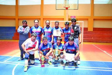 El Potosí se corona campeón del torneo de futsal del CPDP