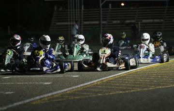 Sandoval gana el título en el nacional de karting