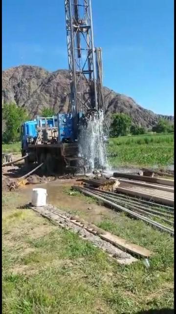 Gobernación abastece  con agua de tres pozos a poblados de Tupiza