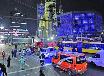 Mueren 12 personas en posible atentado en Berlín, Alemania