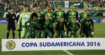 Chapecoense recibirá el trofeo de campeón de la Sudamericana