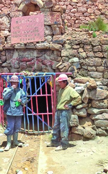 Los mineros descansaron ayer durante su aniversario