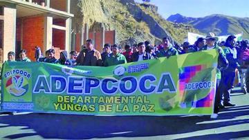 Cocaleros de Yungas rompen diálogo con el Gobierno de Morales
