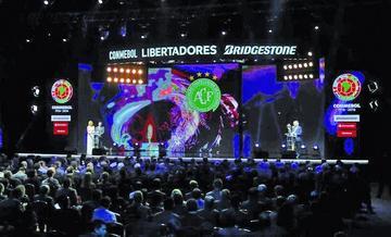 Bolivianos conocen a sus rivales en la Libertadores