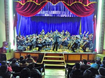 Orquesta de artes presenta recital