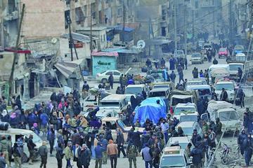 El Ejército sirio declara a Alepo como zona libre de terroristas