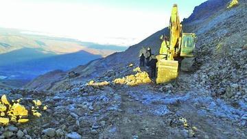 Amplían denuncia por deterioro del cerro a gerente de la Comibol
