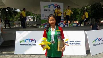 Ajedrecista potosina logra la medalla de plata en Colombia