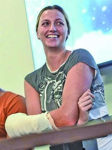 """Petra Kvitova: """"Ya pude mover los dedos"""""""