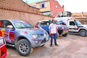 Piloto potosino inicia su periplo en el Dakar 2017