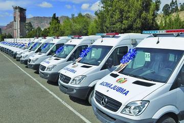 Potosí cuenta con tres nuevas ambulancias de cuidados intensivos