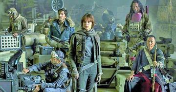 Rogue One celebra Navidad de líder en cines de EE.UU.
