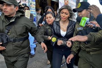 Justicia niega pedido de cesación de detención a Gabriela Zapata