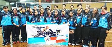 Santa Rosa sube al podio en el torneo de voleibol