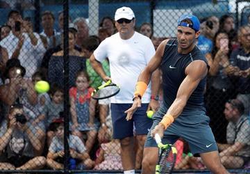 Nadal abre la temporada oficial del tenis