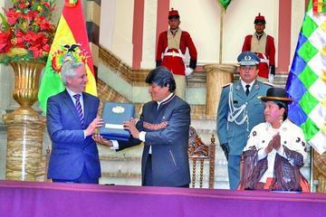 Evo Morales plantea referendo para aplicar la cadena perpetua