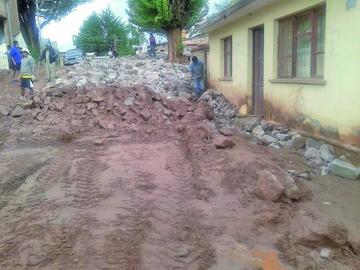 Llegaron las lluvias y en las comunidades temen por las riadas