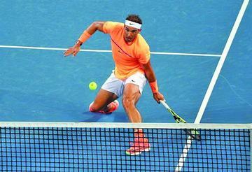 Rafael Nadal abre 2017 con una victoria