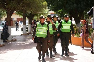 Desplazan 300 efectivos policiales para la seguridad