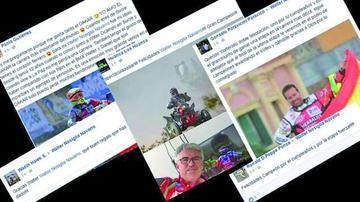 Fanáticos de Wálter expresan su cariño a través de las redes sociales