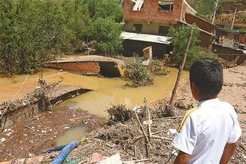 Riadas y granizadas afectan a 215 familias: Chuquisaca