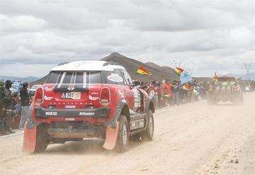 Lavigne sueña con un Dakar que una cinco países sudamericanos