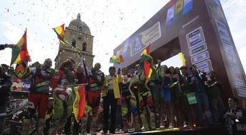 La Paz da la bienvenida al Dakar