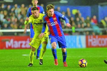 Barcelona empata con Villarreal