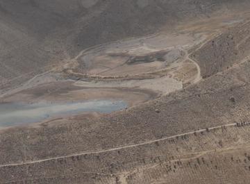 El agua comienza a llegar a las lagunas