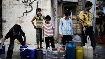 La guerra por el agua empaña el alto al fuego en la capital de Siria