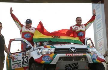 Gutiérrez sigue como el mejor boliviano en autos