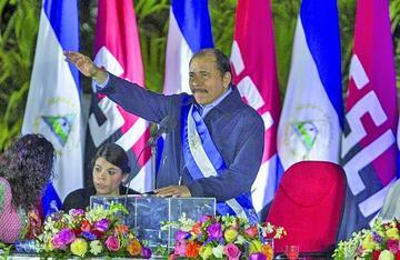 Daniel Ortega jura con llamado a la unidad de los nicaragüenses