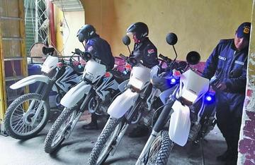 Entregarán motocicletas a funcionarios de la Intendencia Municipal