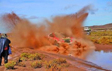 Bolivia le dice adiós al Dakar después de seis días de carrera