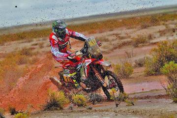 Barreda gana la octava etapa del rali Dakar