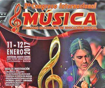 Bolivia es sede de congreso musical