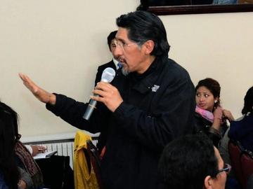 Vladimir Cruz es el director de la Casa de Moneda