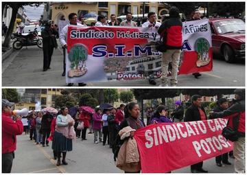 Médicos y trabajadores de la CNS no descartan radicalizar sus protestas