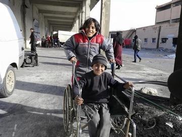 Los mutilados en la guerra siria pretenden recuperar sus vidas