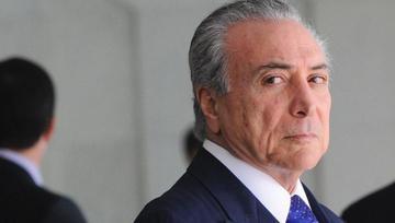"""Temer dice que bandas criminales """"preocupan"""" a Brasil """"como un todo"""""""