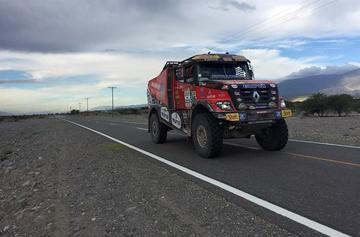 El Dakar continúa en enlace rumbo a Chilecito