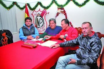 Nacional Potosí rescinde contrato con cuatro jugadores