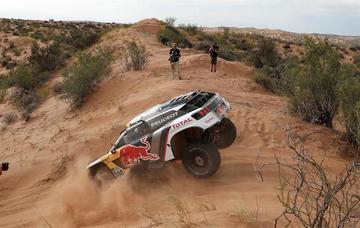Peterhansel está cerca de coronarse en el Dakar