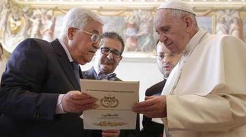 Abás pide que otros estados sigan ejemplo del Vaticano