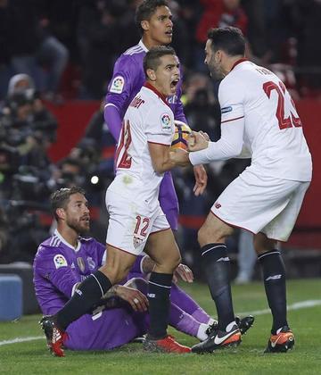 Sevilla gana 2-1 a Real Madrid