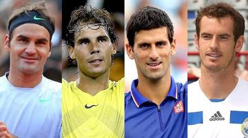 Federer, Nadal, Murray y Djokovic son preferidos en Australia